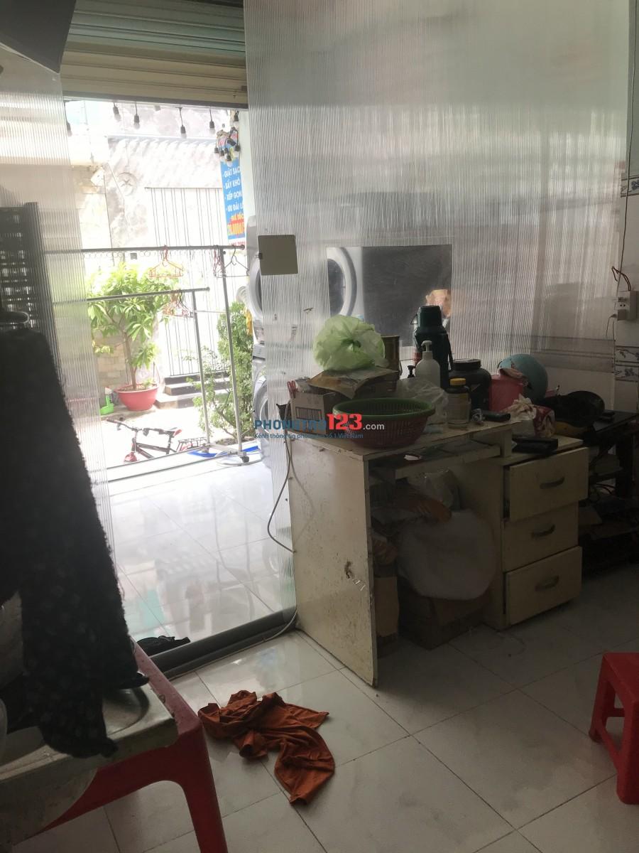 Phòng trọ Kiot thoáng mát rộng rãi tại 17/2B Nguyễn Hữu Tiến, Phường Tây Thạnh, Quận Tân Phú