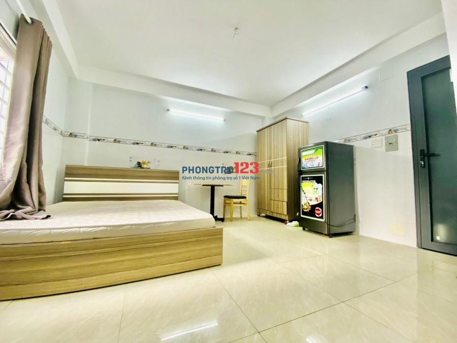 Giảm giá mạnh mùa dịch, căn hộ dịch vụ full nội thất, bếp tách riêng với chổ ngủ tại 448 Phan Huy Ích quận Gò Vấp