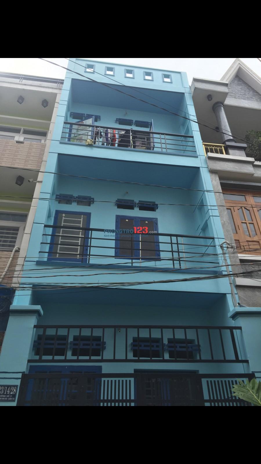 Cho thuê phòng trọ giá sinh viên, an ninh. Đ/c tại 123/14/28 Đường số 3, Phường Bình Hưng Hòa, Quận Bình Tân