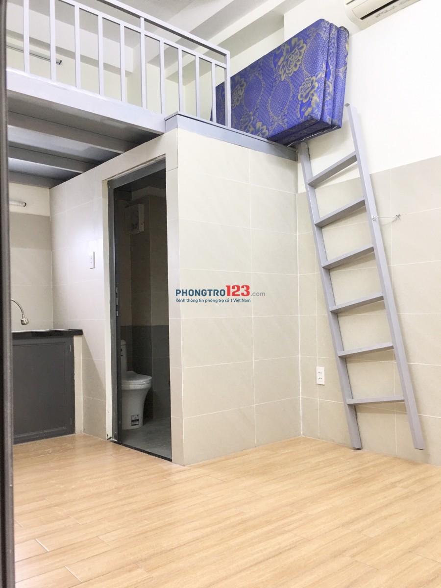 Phòng mới xây, có máy lạnh giá sinh viên - đối diện Trường ĐH CN4