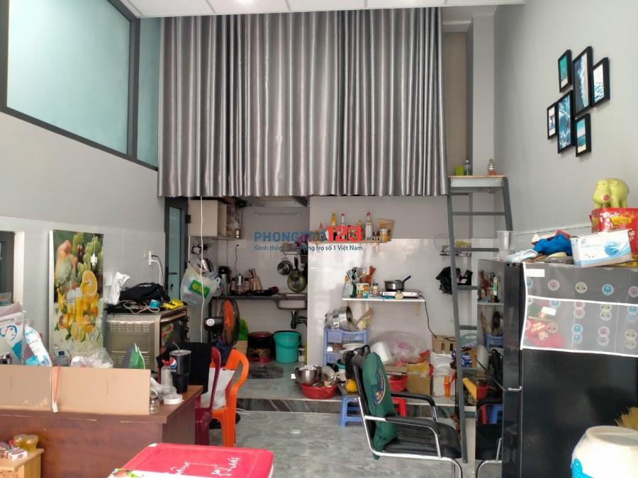 Cần nhường lại căn hộ dịch vụ mặt tiền rộng 21m2, tại 688/45 Đường Lê Đức Thọ, Phường 15, Quận Gò Vấp