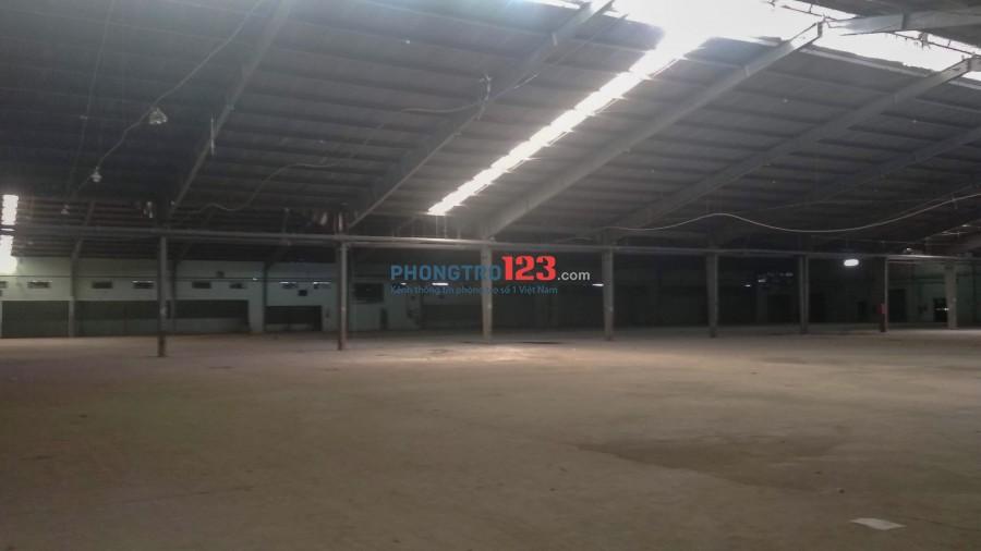 Cho thuê nhà xưởng góc 2 mặt tiền Phường Tây Thạnh, diện tích 11.268m2, giá rẻ KCN Tân Bình, Tân Phú