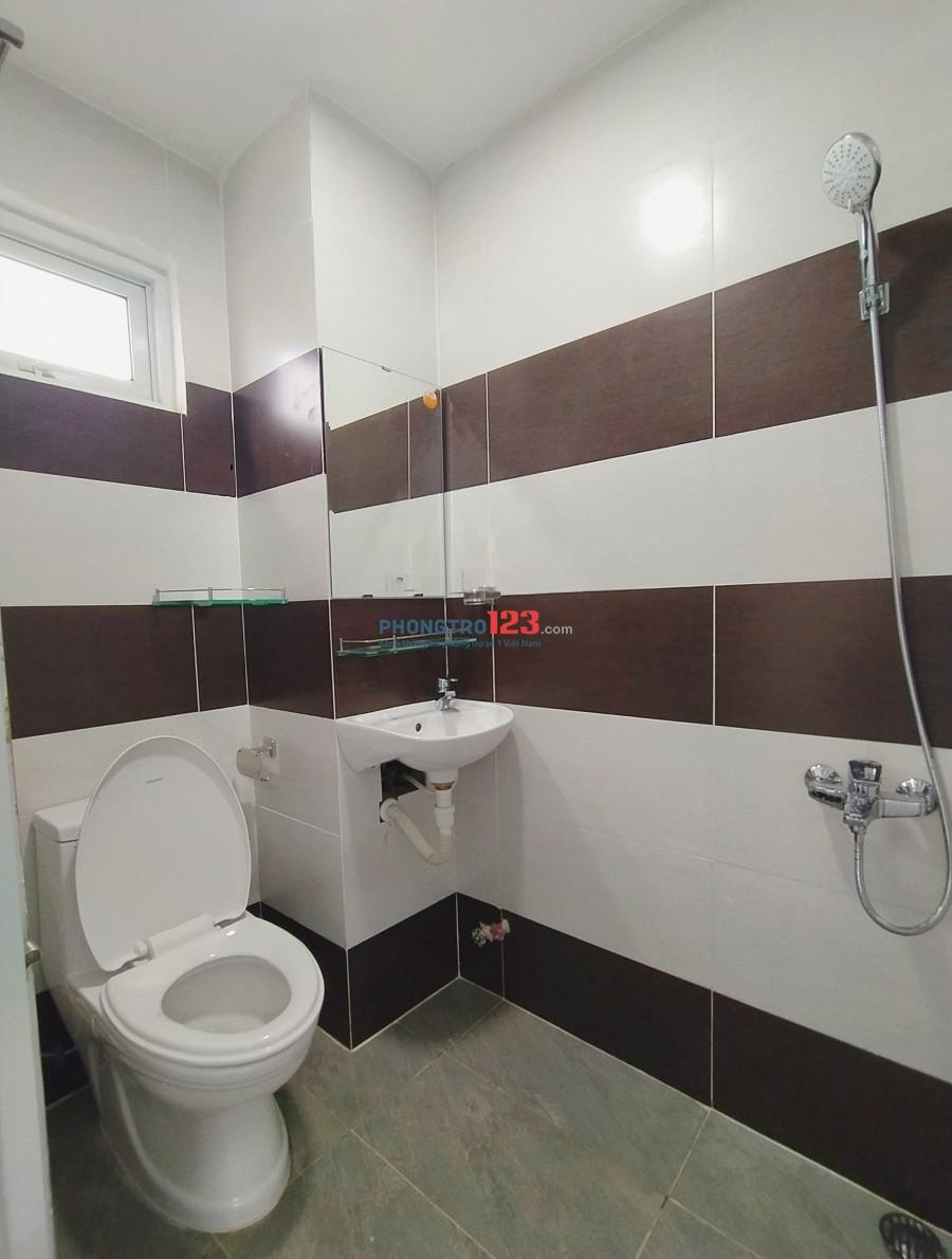 Cho thuê phòng trọ quận Tân Phú có gác, phòng rộng 28m2. Giá 4tr1/tháng