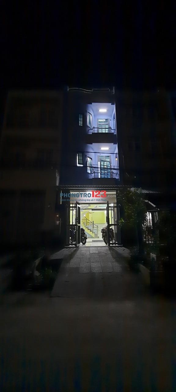 Cho thuê nhà nguyên căn HXH Q. Bình Tân, cách Trần Đại Nghĩa 100m. DT: 4 x 13m, 1 trệt 2 lầu 1 ST, 4PN, 3WC