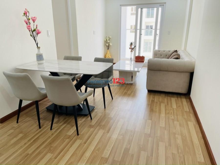 Cho thuê căn hộ cao cấp Diamond Riverside 2pn, 2wc giá thuê 12 triệu/tháng