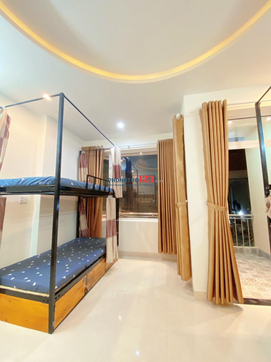 Căn hộ mini, giường dorm, ở ghép ktx, giá từ 3tr, 3tr5, giường tầng 990k