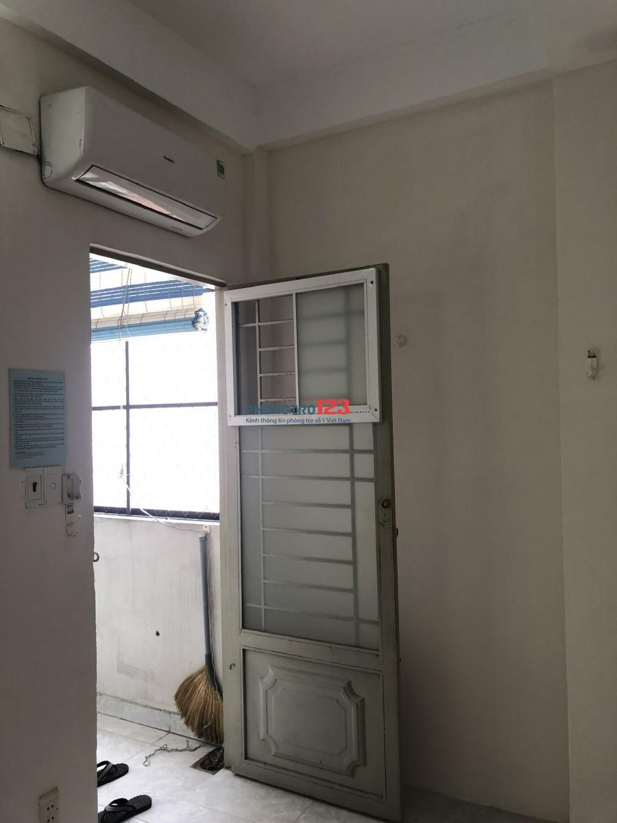 Cho thuê phòng máy lạnh, toilet riêng, kệ bếp Quận 3