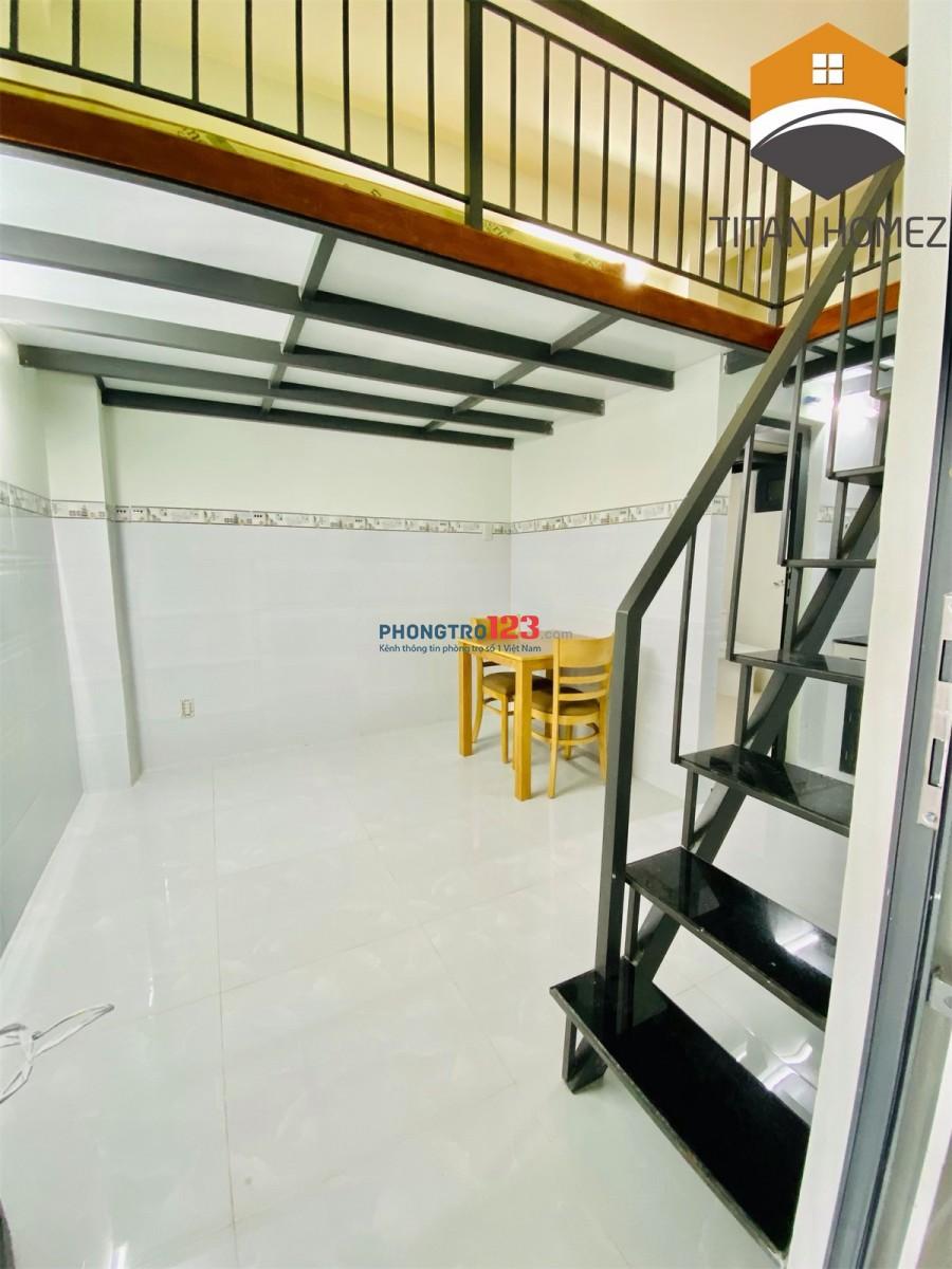 Căn hộ mini, Gác lững, Cửa sổ mặt tiền lớn Full nội thất giá rẻ Quận 7 giảm giá mùa dịch