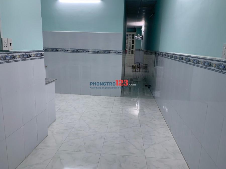 Cho thuê nguyên căn nhà mới sửa tại hẻm 14 (C1 cũ) Phạm Hùng, Q8