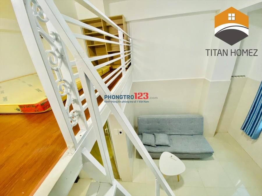 Cho thuê chung cư, căn hộ giá rẻ Quận 7, Full nội thất, Giáp Q4 Cầu Kênh Tẻ