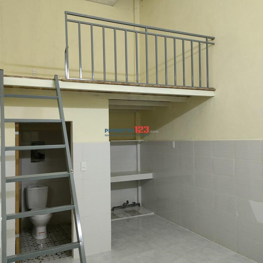 Phòng mới xây 100%, đường 5,5m, vỉa hè 3m thoáng mát sạch sẽ