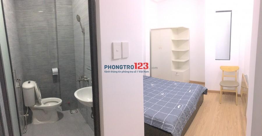 Phòng mới xây Q10, có nội thất, WC riêng, giờ giấc tự do 601/12/2 Cách Mạng Tháng 8, P15, Quận 10.