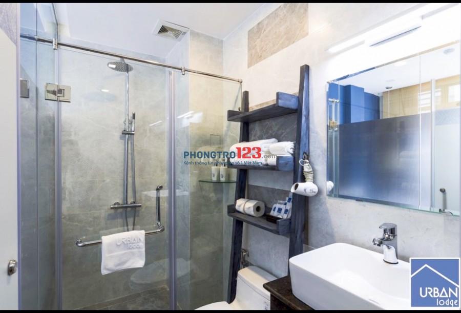 Cho thuê phòng bao điện nước Full nội thất Phố Bùi Viện P Phạm Ngũ Lão Q1 giá 5,5tr/th