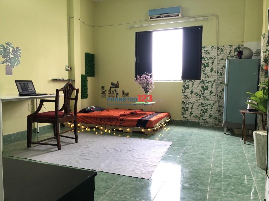 Phòng 30m2 ngay Big C Tô HIến Thành - Sư Vạn Hạnh có cửa sổ thoáng mát