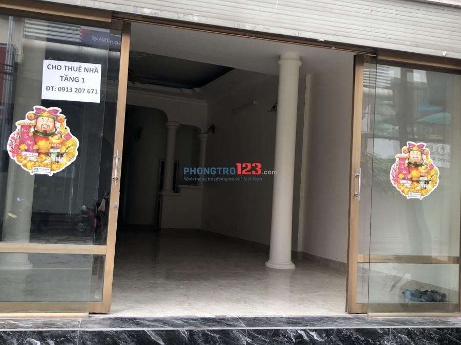 Chính chủ cho thuê mặt bằng kinh doanh mặt đường Vương Thừa Vũ