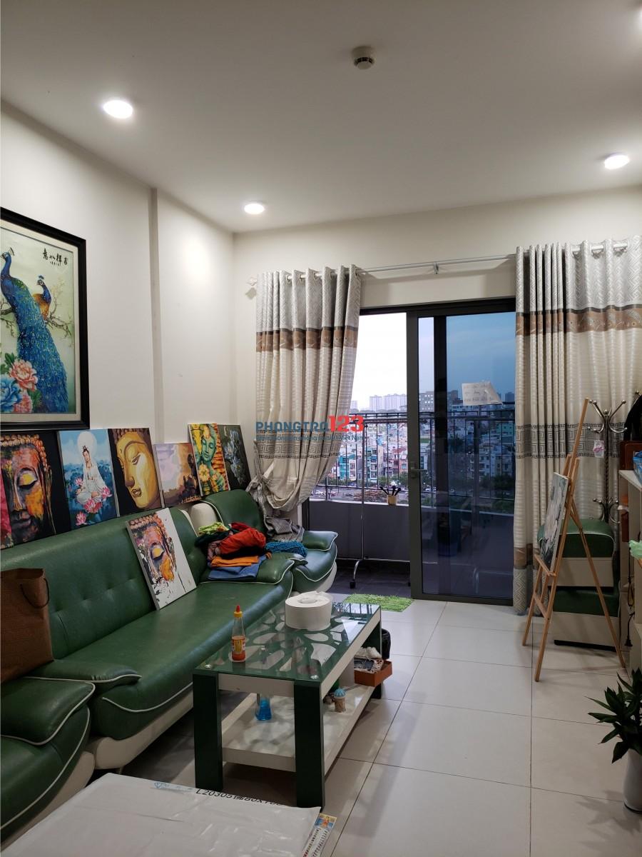 Cho thuê căn 3 phòng ngủ tại Daimon Lotus Quận 8, nội thất đầy đủ