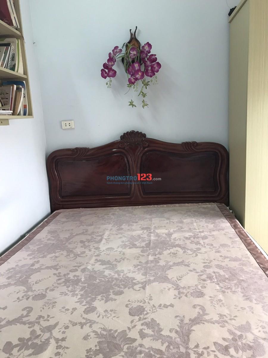 Cho thuê căn hộ nhà B2 đường Hàm Nghi thiết kế: 2 phòng ngủ, phòng khách, bếp, wc