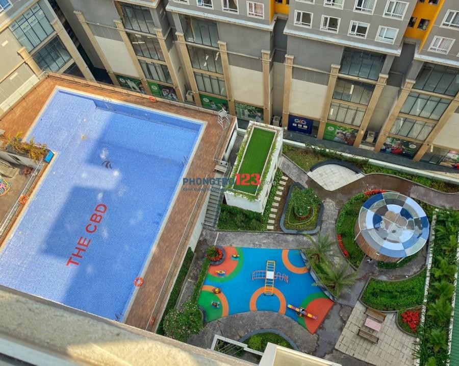 Phòng trống trong chung cư cao cấp The CBD. Giá 3tr2/tháng