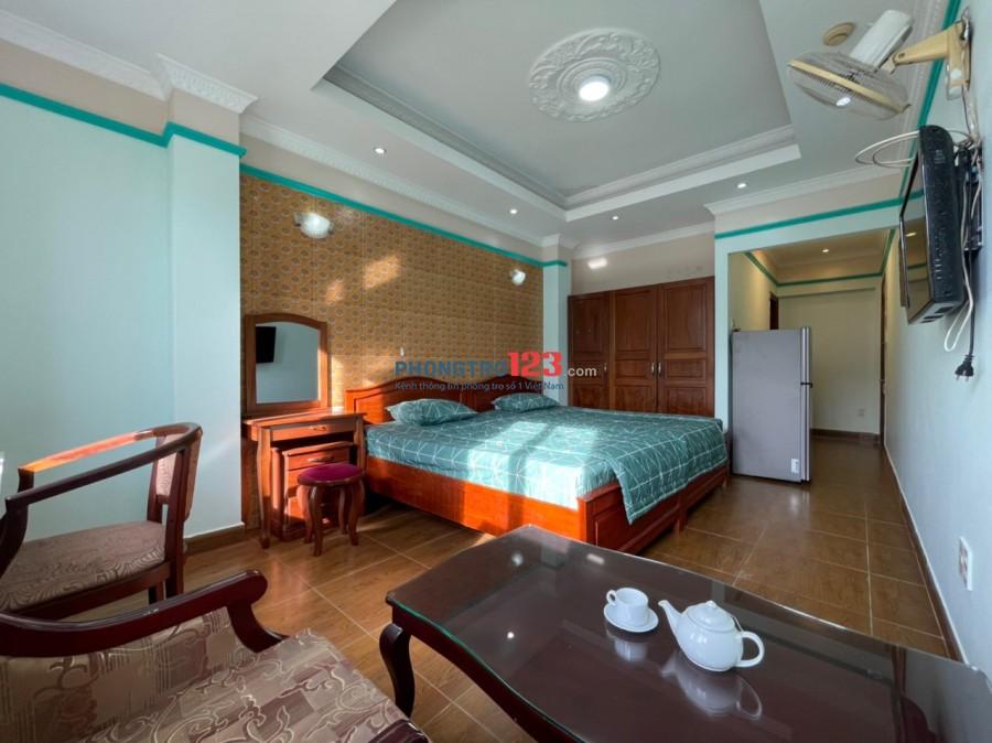 Cho thuê căn hộ đầy đủ nội thất tại 102 Bình Giã, phường 13, Tân Bình