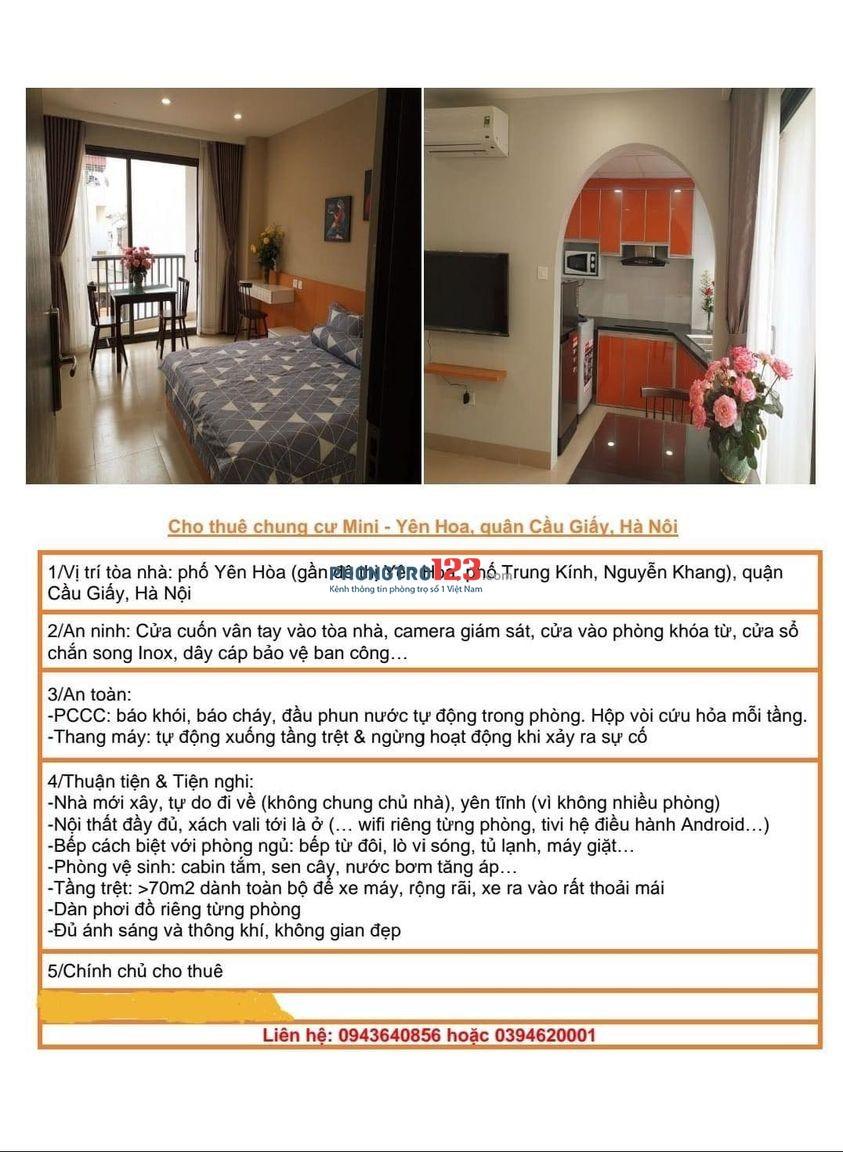 CCMN đẹp, đầy cảm xúc. 105 Yên Hòa, Cầu Giấy, Hà Nội.