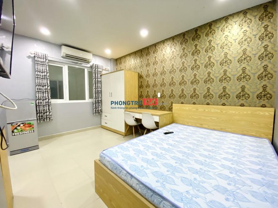 Phòng cho thuê đầy đủ Nội thất, mặt tiền Nguyễn Thị Thập Q7 25m2 - ảnh thật 100%