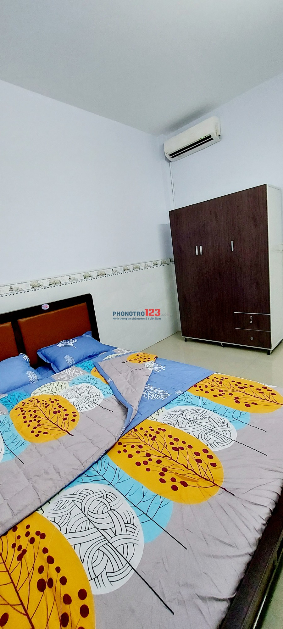 Cho thuê nhà mới nguyên căn 1 trệt 1 lầu nội thất đầy đủ