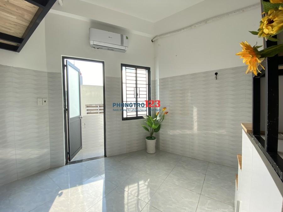 Phòng GÁC LỬNG full tiện nghi, cửa sổ ban công Lý Thường Kiệt, gần ĐH Bách Khoa-hỗ trợ mùa dịch cực TỐT