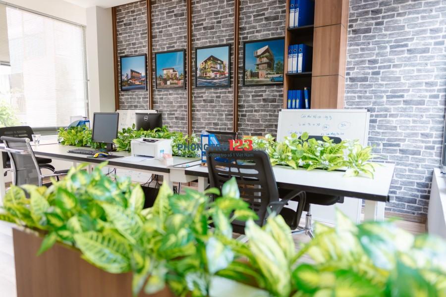 Cho thuê văn phòng làm việc không gian xanh