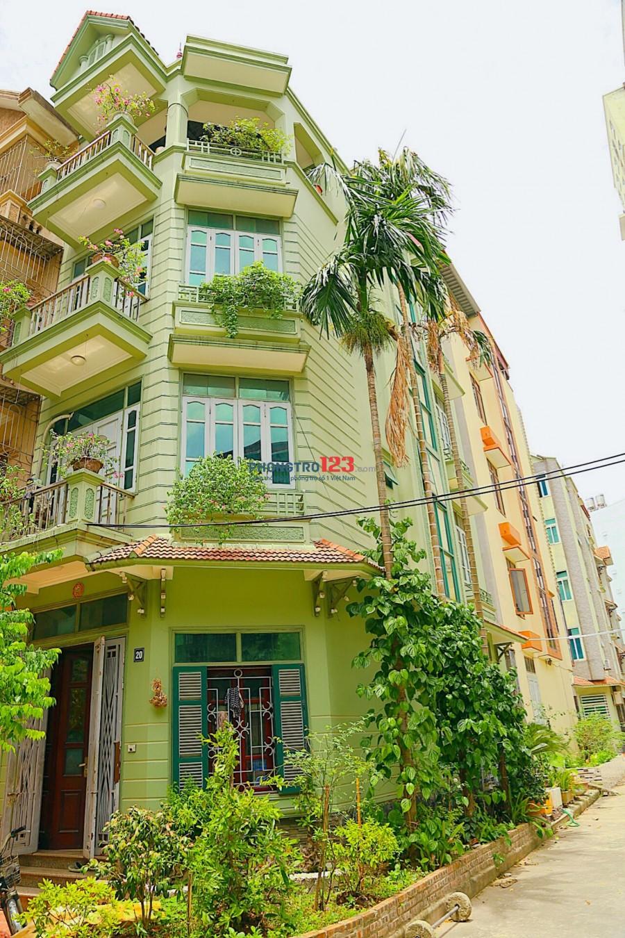 Cho thuê nhà đất nguyên căn ngõ 50 Nguyễn Hữu Thọ, cách đường Giải Phóng 100m