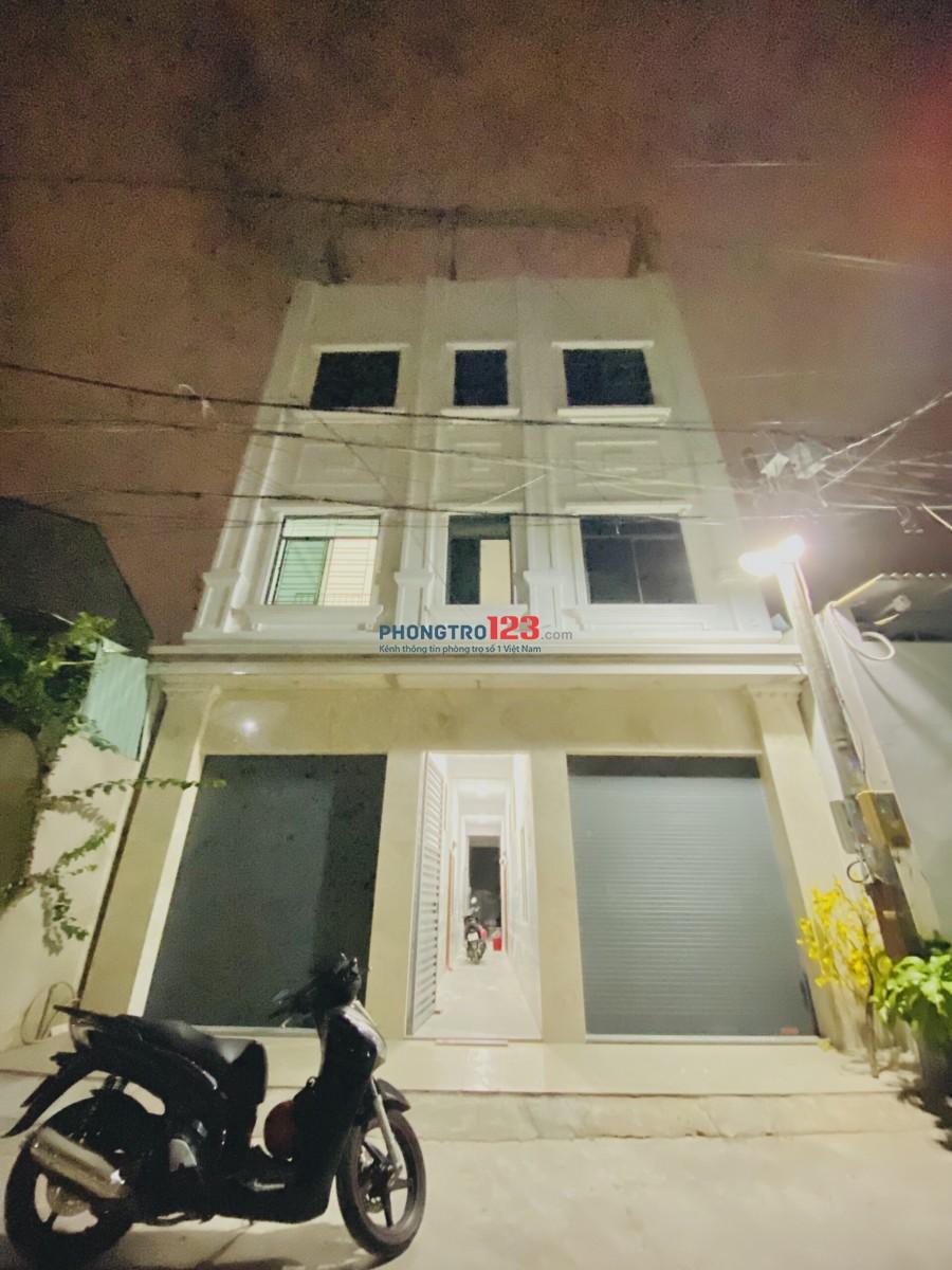 Phòng ở Nguyễn Văn Quá Q12 mới xây 25m2 nội thất cơ bản có gác giá siêu mềm