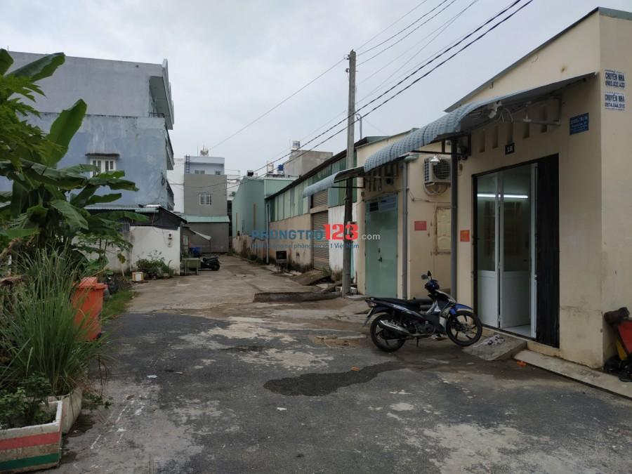 Phòng đầu dãy T. Lộc 37 Q.12 gần CĐ Điện lực Bxe buýt 03. Mầm non Tân Việt Mỹ