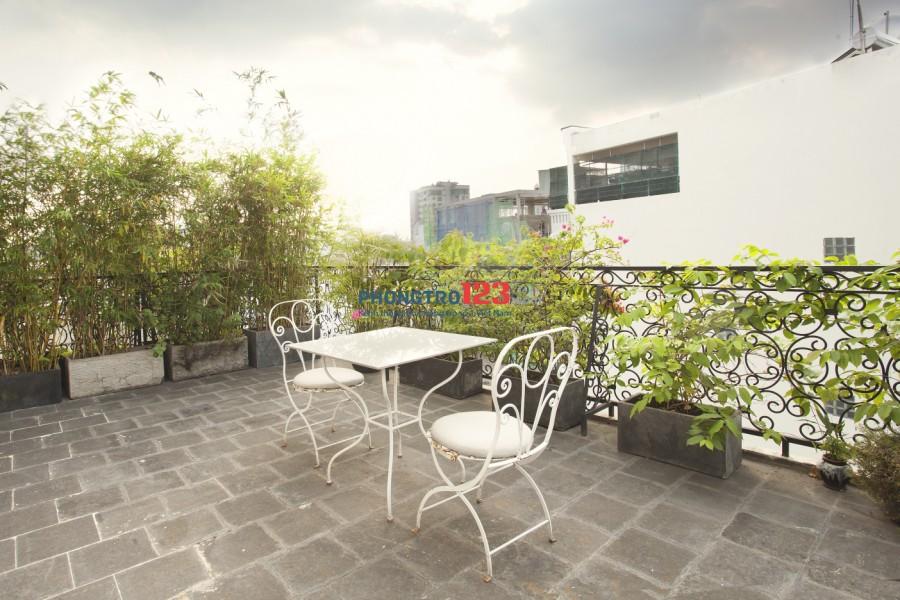 Căn hộ có ban-con Nguyễn Cửu Vân Bình Thạnh có hồ bơi, rooftop, nội thất như hình
