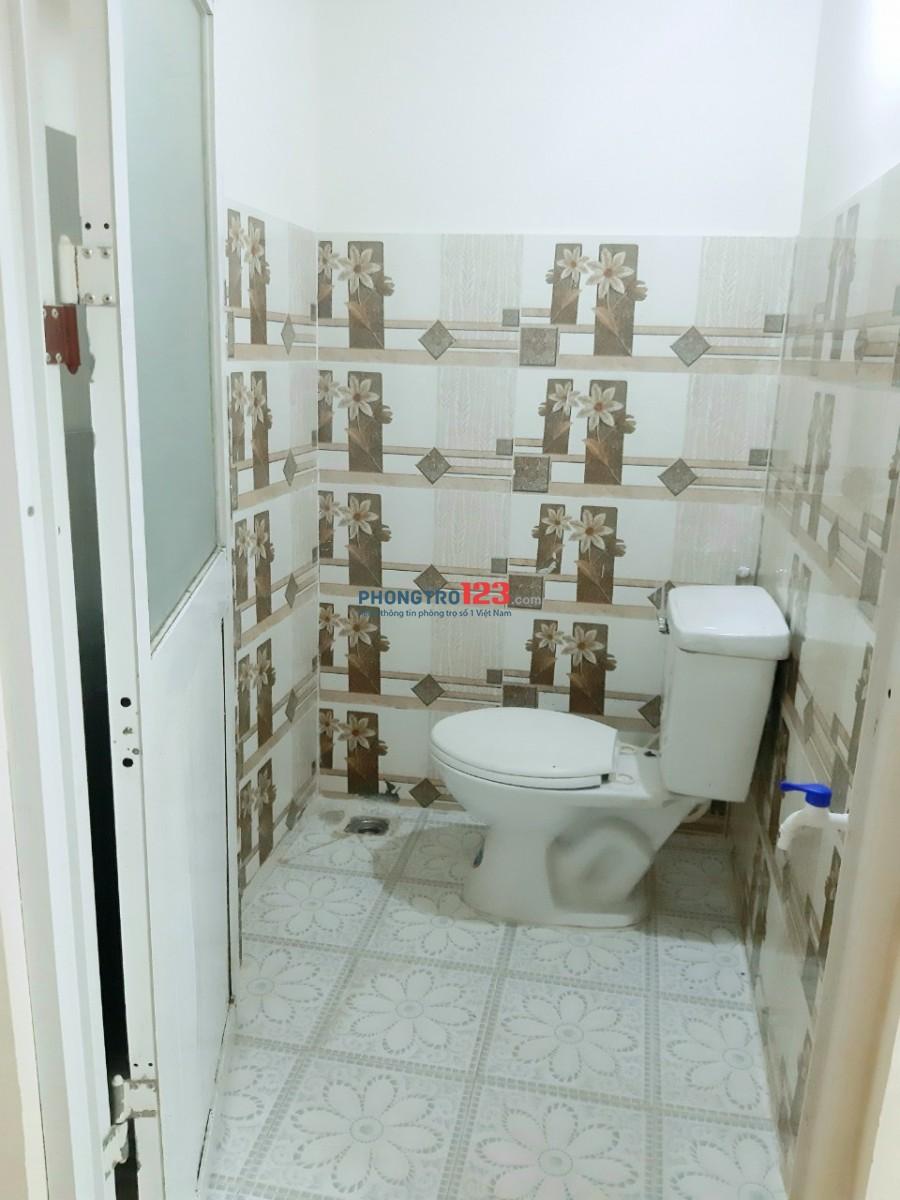 Cho thuê phòng trọ nội thất 2.2tr máy lạnh, máy giặt, an ninh, Thạnh Lộc 50, Quận 12
