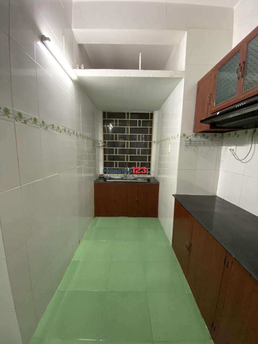 Cho thuê căn hộ Đường Sắt 88m2 2pn tại 590 CMT8 P11 Q3 giá 9tr/th
