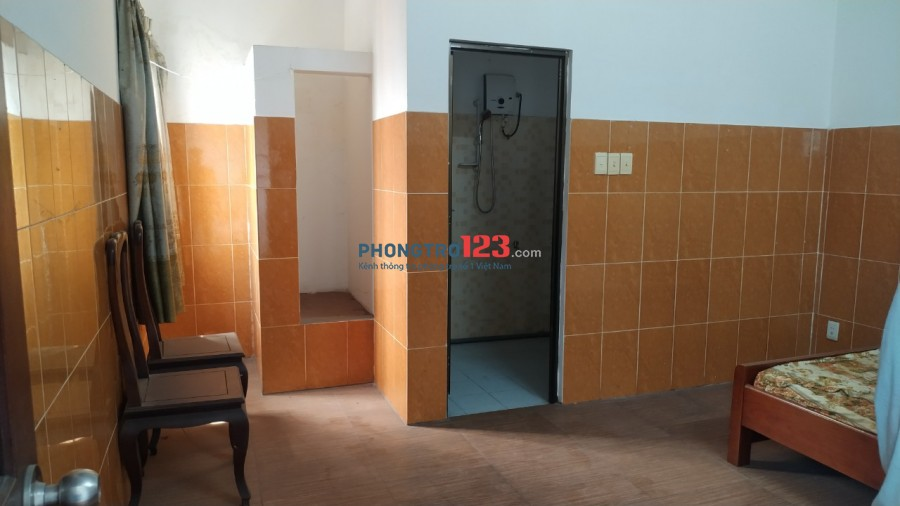 Cho thuê phòng trọ Thới An 20, diện tích 25m2. Giá phòng : 1.500.000 - 2.500.000 (Có Máy Lạnh)