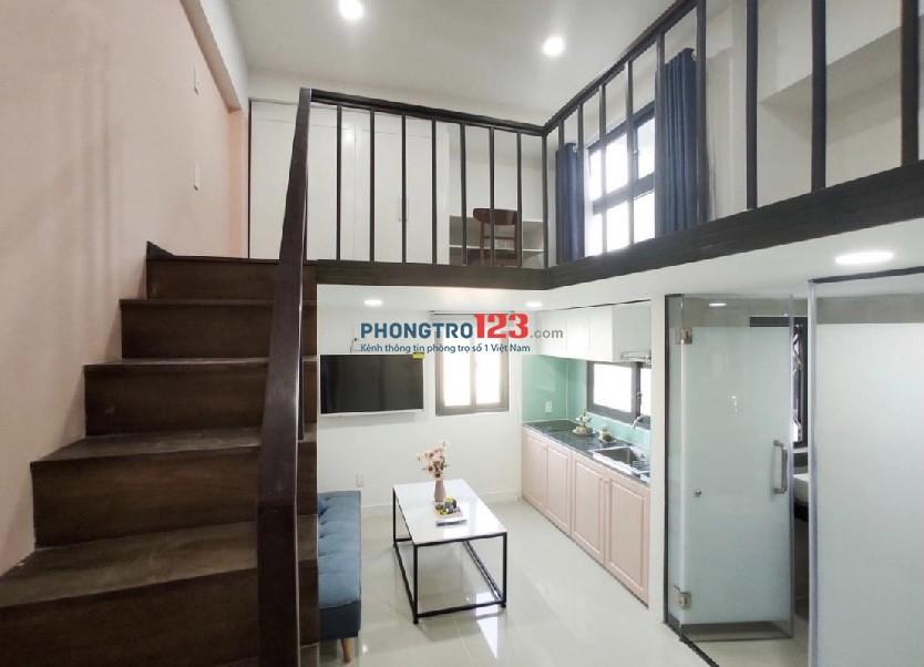 Giảm giá cho thuê phòng studio duplex full nội thất - Lâm Văn Bền Q7