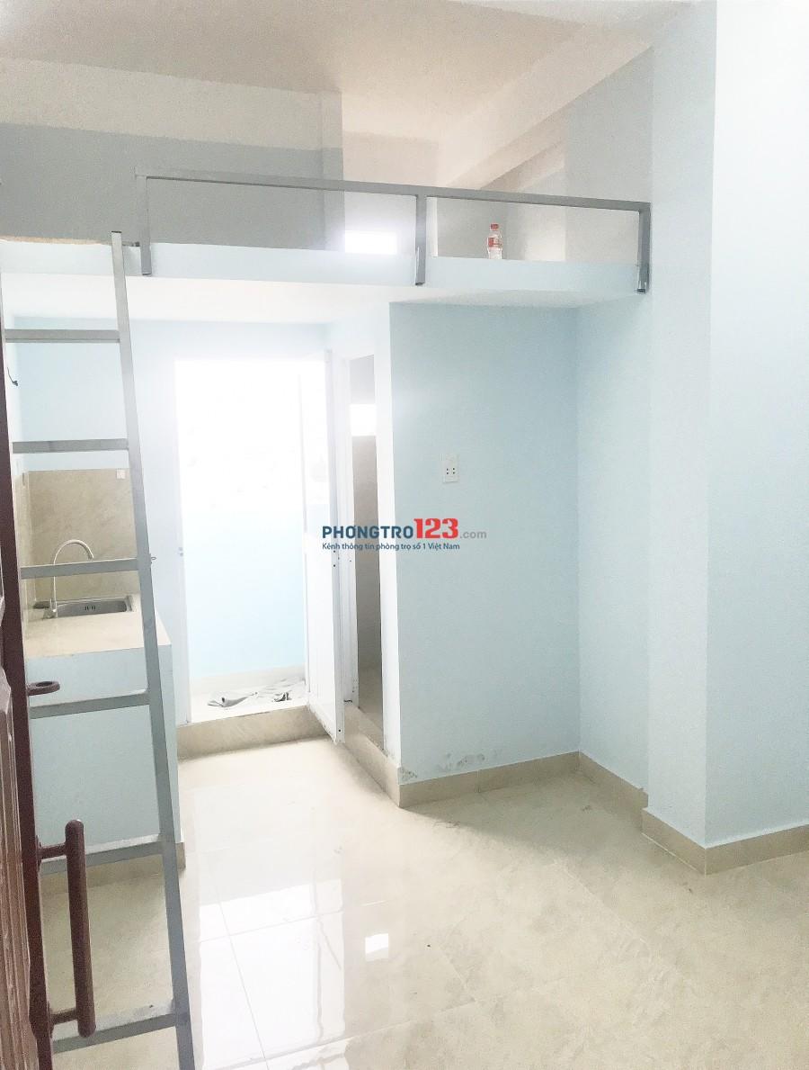 Phòng mới xây gần Trường ĐH Văn Hiến đường Khuông Việt