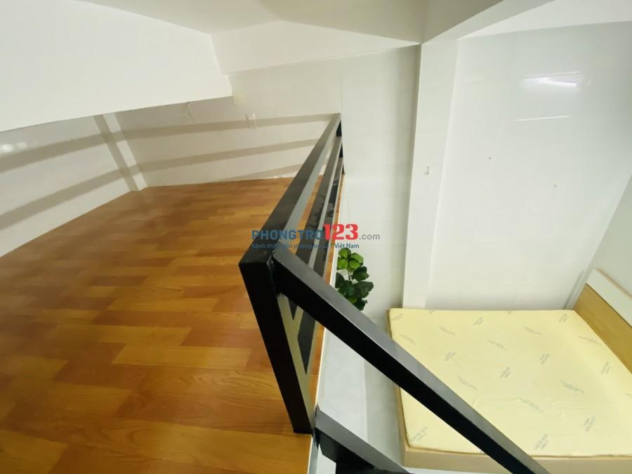 Phòng trọ quang trung ban công full nội thất 25m2