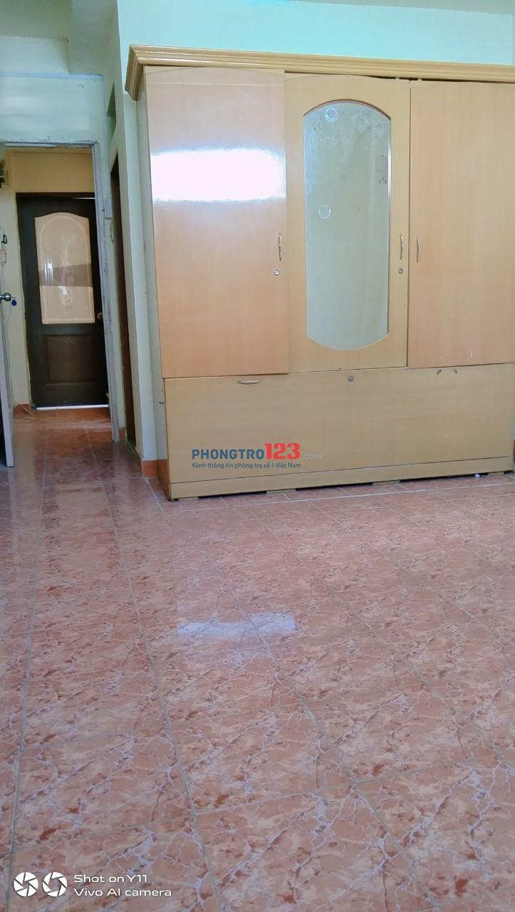 Phòng máy lạnh, cửa sổ sạch đẹp mát mẽ gần Lữ Gia