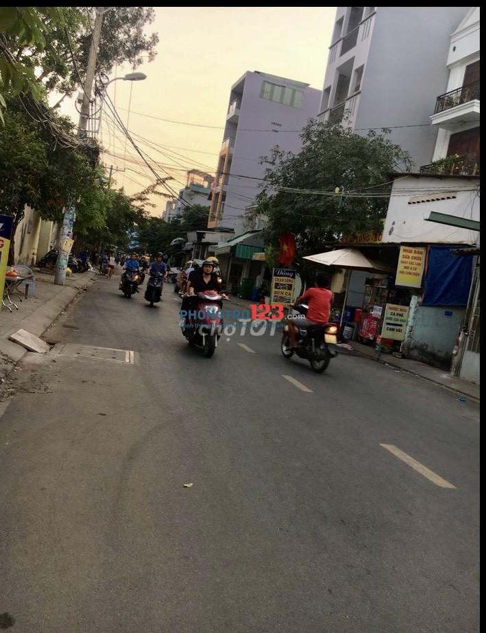 Cho thuê nhà NC 4x17 1 trệt 3 lầu tại 203/17 Huỳnh Văn Nghệ P12 Q Gò Vấp