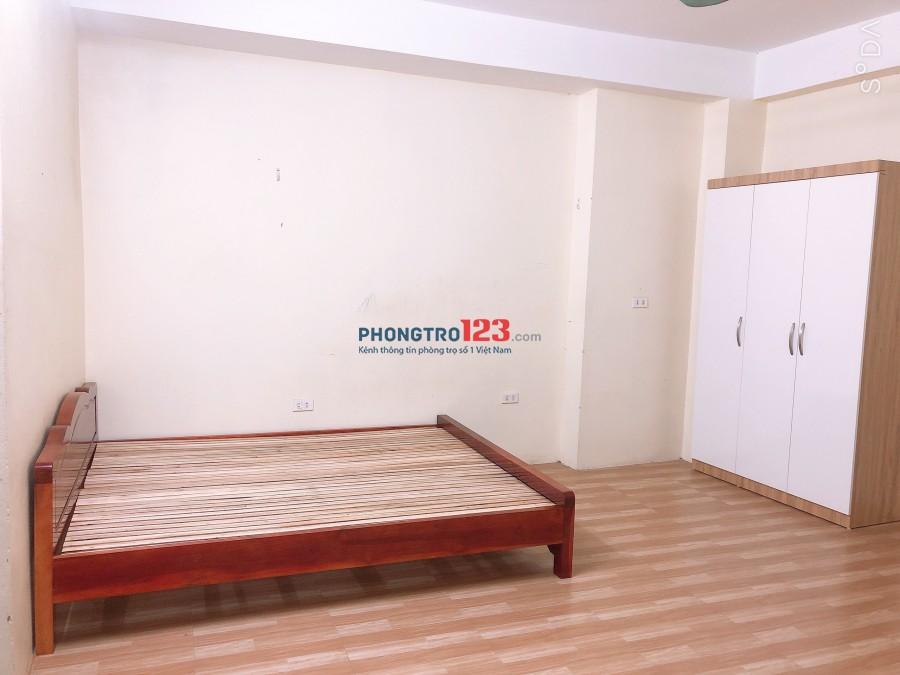 Cho thuê phòng trọ 25m2 ngõ 38 Nguyễn Văn Huyên - cầu Giấy