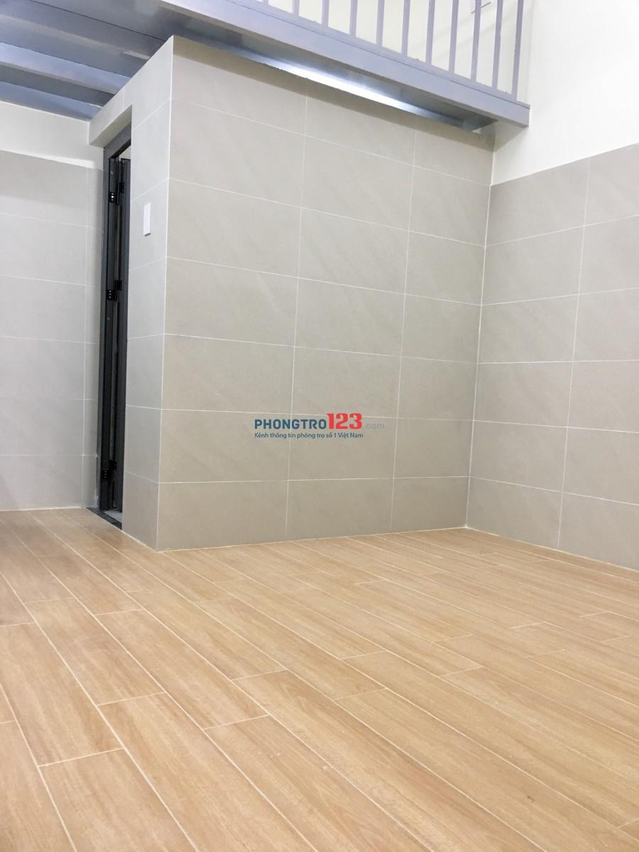 Phòng có gác, máy lạnh mới xây đối diện ĐH Công Nghiệp 4