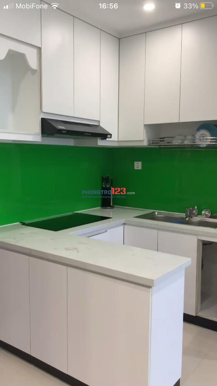 Cho thuê căn hộ full nội thất đẹp 1+ giá 6 triệu bên Vinhome Grand Park Quận 9.
