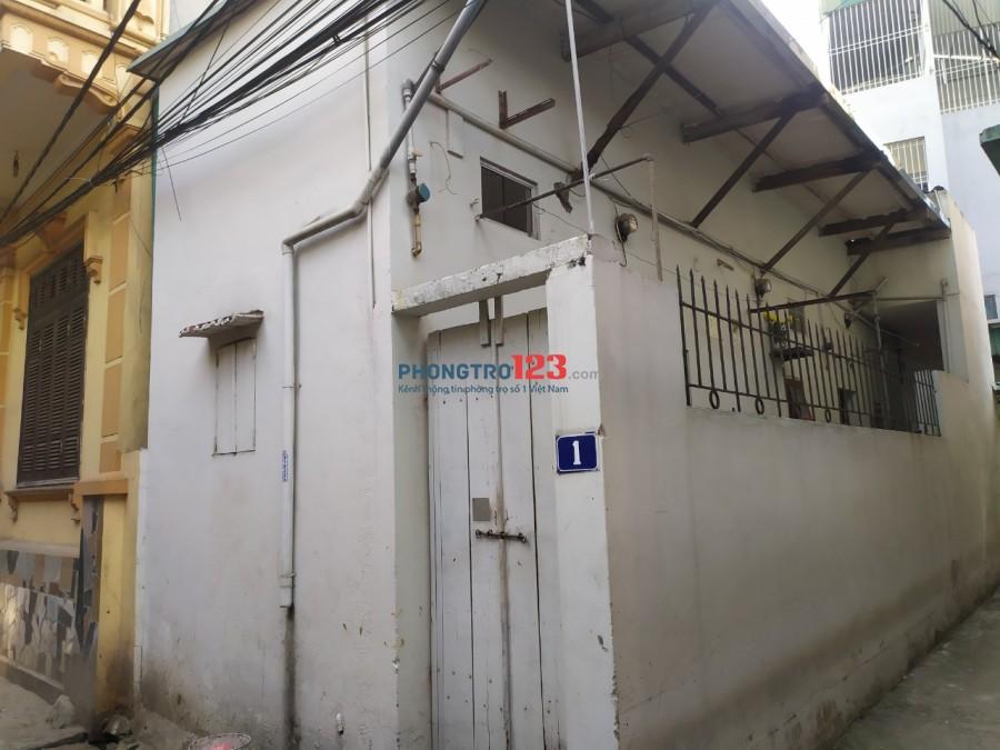 Cho thuê nhà nguyên căn khu vực Hà Đông, Cầu Tó, Viện 103. Diện tích 45m2, giá 2tr5/tháng