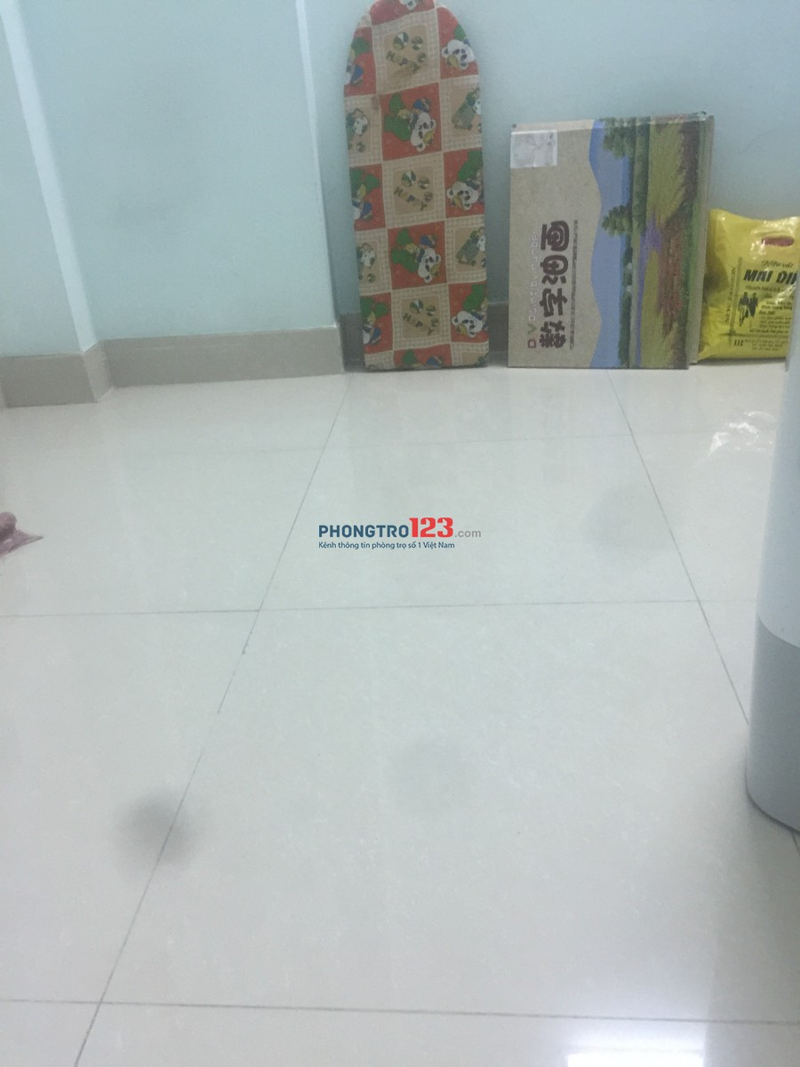 Tìm bạn Nữ ở ghép giá tốt ở Tân Phú, Giá phòng 1.250.000 (đã bao gồm nước điện wifi đậu xe)