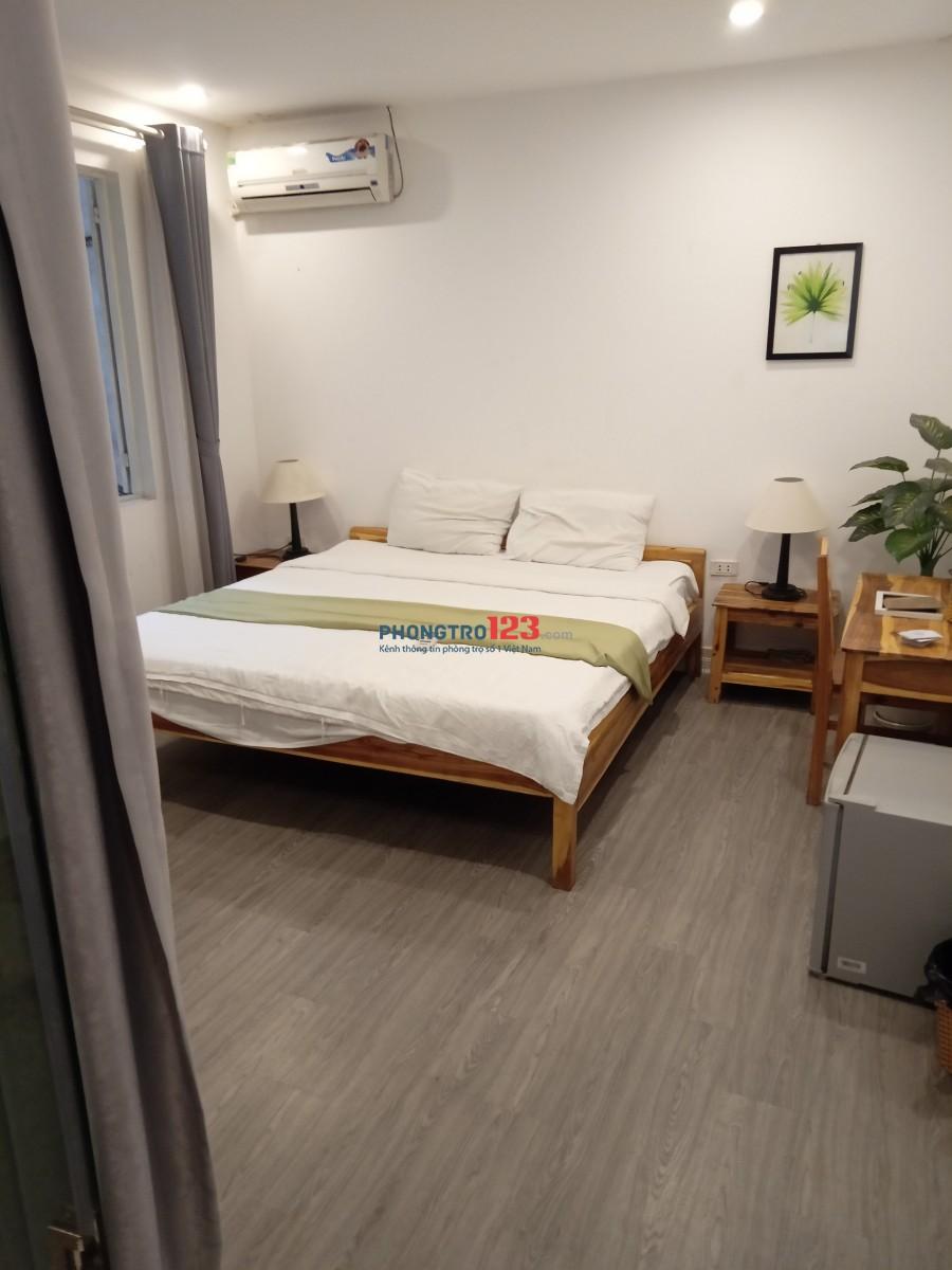 Cho thuê CCMN cao cấp full đồ nội thất giá 4.5 triệu/tháng ở phố cổ Đào Duy Từ