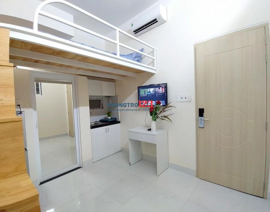 Phòng full đồ 30m2 có gác thoáng, sạch, cao cấp. Đ/c 28 Đường Phạm Văn Chiêu, Phường 8, Quận Gò Vấp