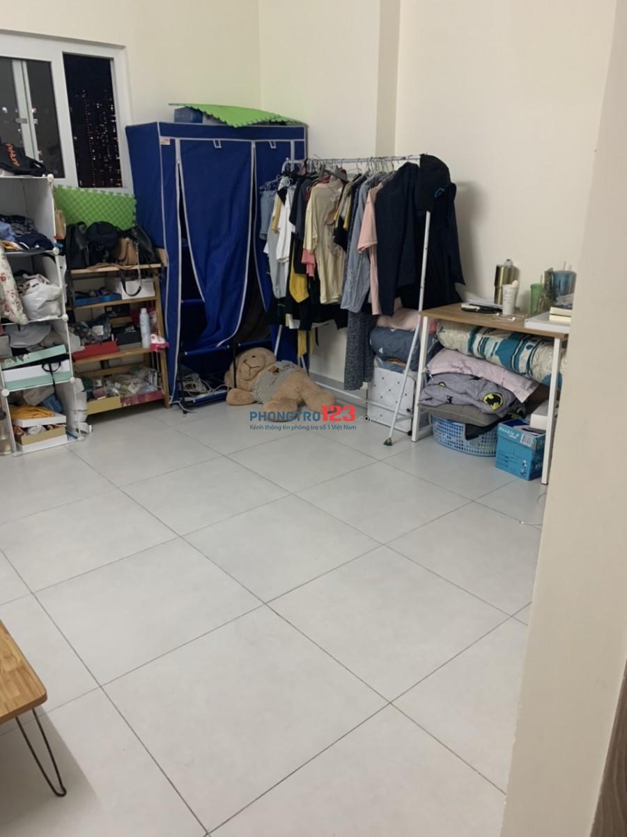 Share phòng - Tìm thêm 1 Nam + 1 Nữ ở ghép chung Cư Bộ Công An Quận 2 - 2 PN 2 toilet, tiện ích đủ