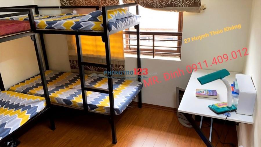 Cho thuê phòng chung cư an toàn văn minh, nội thất đầy đủ. Giá thuê 1.5 tr. Liên hệ Mr. Đinh 0911.409.012