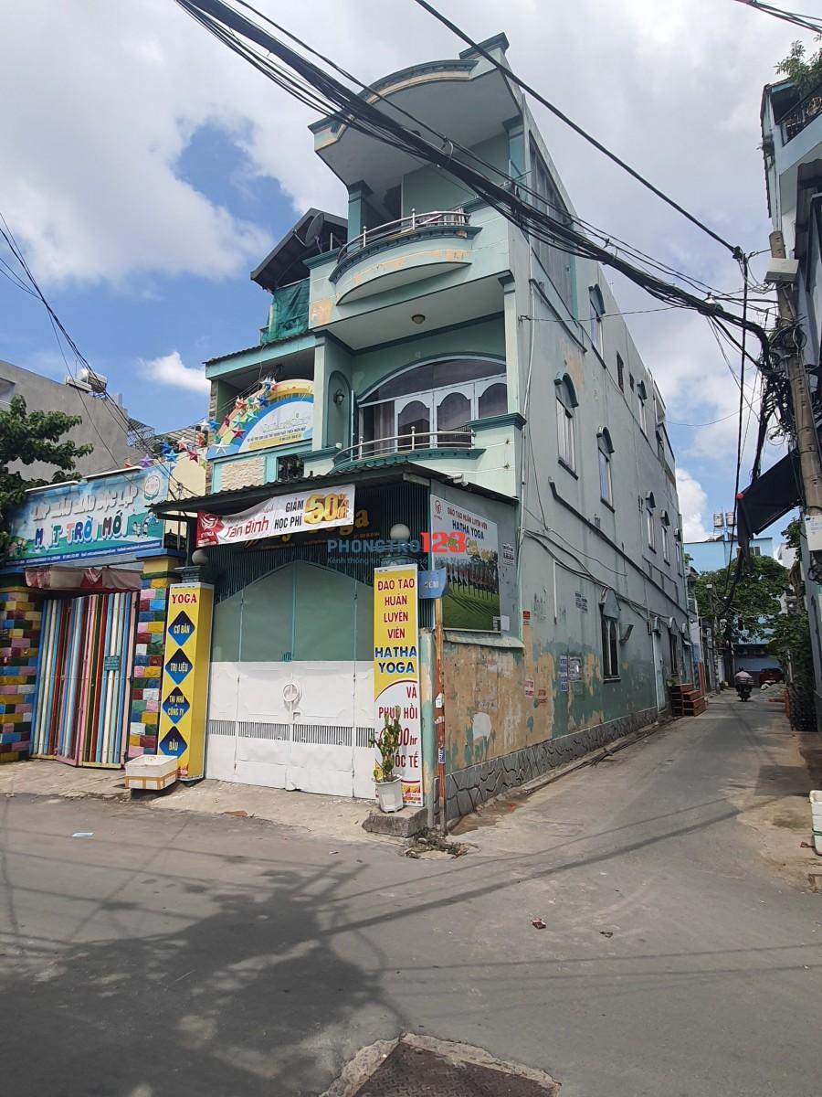 Sang lại căn hộ nhà trọ 11 phòng, 1 trệt 2 lầu, 1 mặt bằng dưới, hẻm xe tải 2 mặt tiền, đường Phạm Văn Bạch, Tân Bình